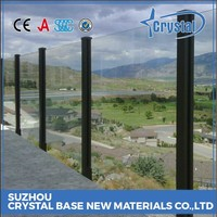 Trustworthy Supplier Custom Color Tempered Laminated Glass Handrail