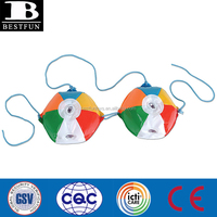 custom pvc inflatable beach ball bikini toy sexy vinyl bikini toy beach ball shape bikini