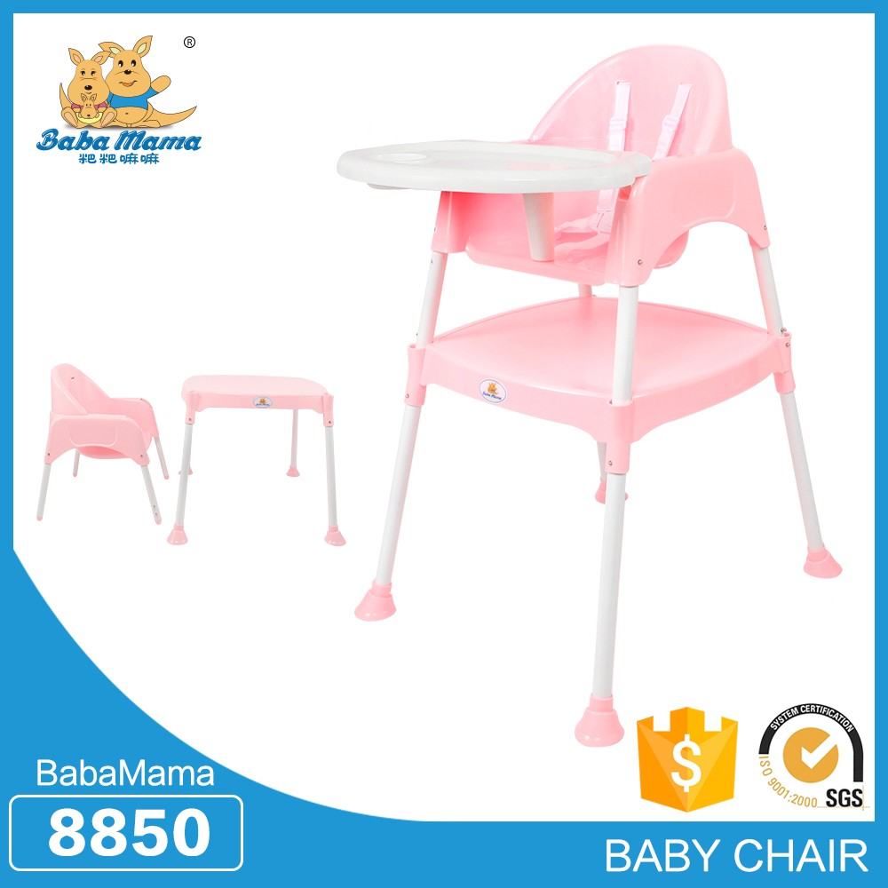 Professional manufacture cheap baby dinning plastic folding chair