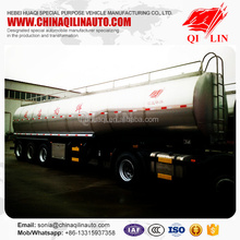 Direct factory manufacture mechanical suspension milk transport tank trailer