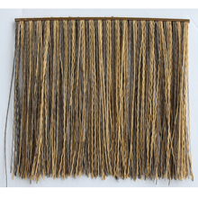 Amazing Quality recyclable decorative pvc synthetic reed thatch roof tile