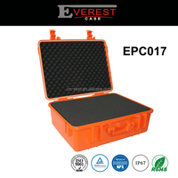 Waterproof High-Impact plastic equipment case/instrument case carrying high quality case with foam