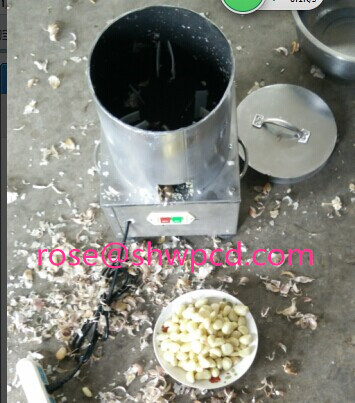 Wholesale Garlic Peeler Machine/Home Used Garlic Peeling Machine/Garlic Skin Removing Machine for Sale