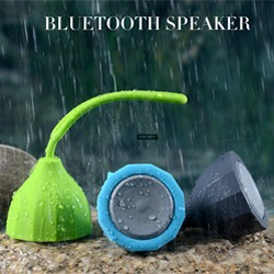 New Water Resistant Mini Portable Shower Speaker