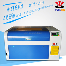 Liaocheng Voiern laser 60w/80w glass co2 laser tube small co2 laser engraving machine/mini laser engraver 6040/6090 cheap price