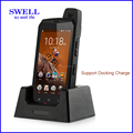 Dual sim card rugged cell phones , wireless charging outdoor phone atex mobile phone rugged