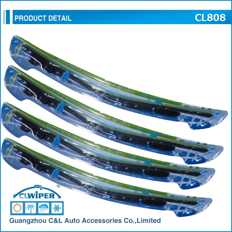 CLWIPER 1+9 adaptors multifunctional glass windscreen car wiper blades