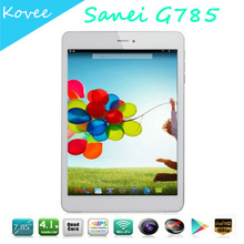 7.85 inch Sanei G785 3G WCDMA Phone Call Tablet pc Qualcomm Quad Core 1.2GHz 1GB RAM 16GB ROM Andrioid 4.1 1024*768pix GPS
