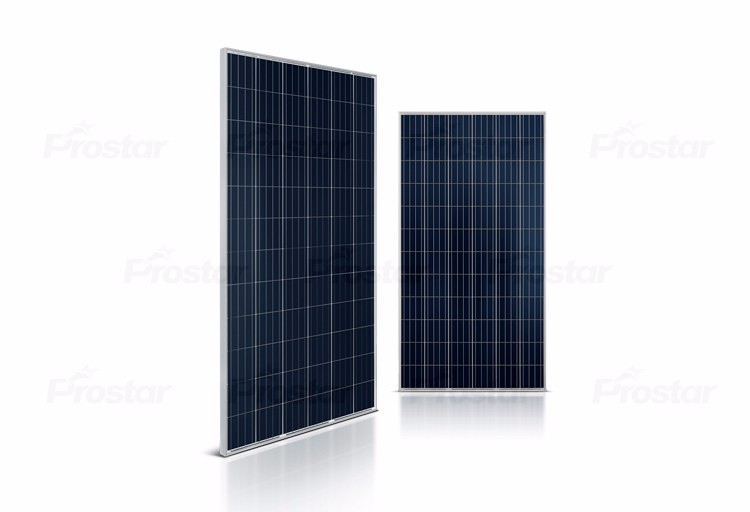A grade 4BB Solar panel module 305W Poly crystalline silicon 72 cells