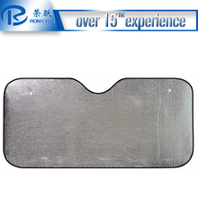 PE bubble sliver Classic and durable auto front sun shade