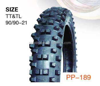 Super Quality Wholesale Rubber Motorcycle Tyre 90/90-21