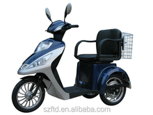 Low speed 3 wheel electric scooter/electric tricycle adults