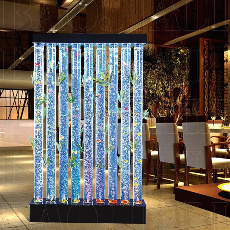 Restaurant Furniture Led Water Bubble Festival Bamboo