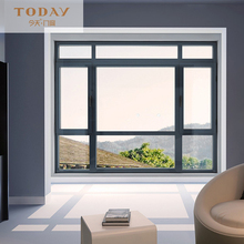 Aluminum alloy frame glass casement window home casement windows wholesale