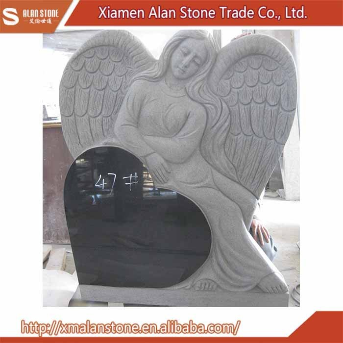 China Wholesale angel tomb stone