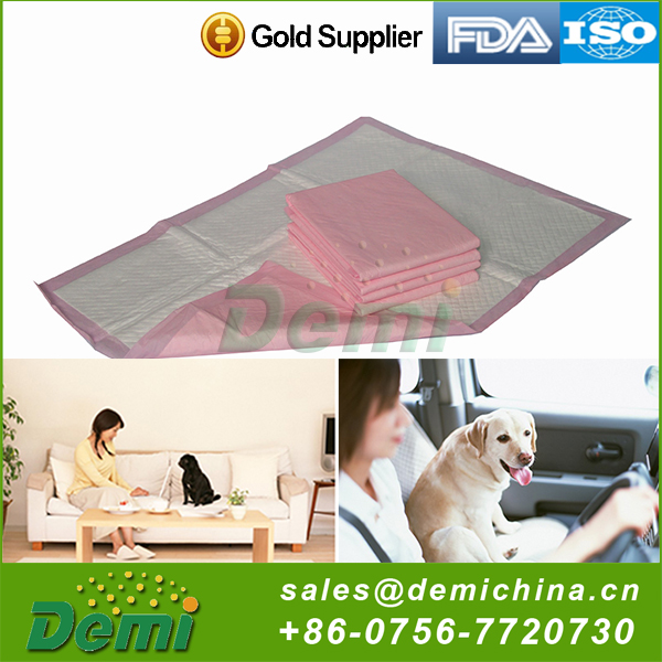 Hot selling good quality decorative disposable pet dog urine pad