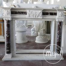home decoration Italian style reclaimed fireplace mantels