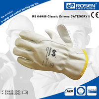 RS SAFETY Work glove EN388 in premium A grade cow hide leather working and Leather hand gloves