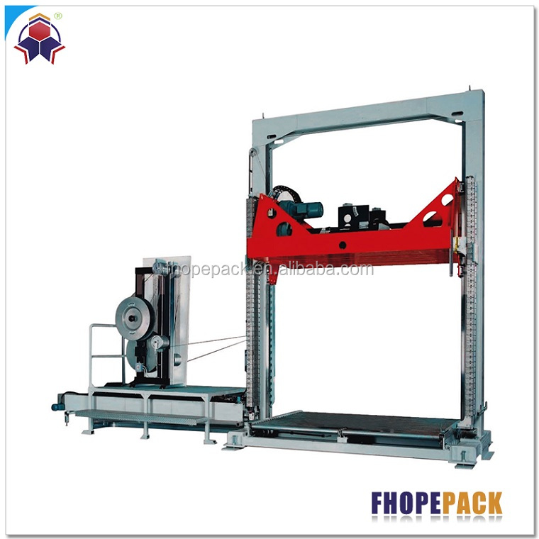 Hight Performance Automatic Cotton Bale Strapping Machine with PET band
