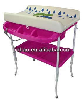 baby plastic bathtub match wide changing table & baby product