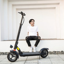 10inch 36V 48V light powerful suspension electric scooter with seat easy foldable
