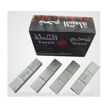 Silver and Golden Hookah Charcoal for Shisha 1.5 hours burning time