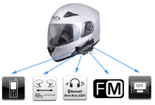 carreras de motos intercom 2x500M Motorcycle Bluetooth Multi Interphone Headset Helmet Intercom Handfree
