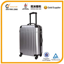 Fashion trolley travel abs and pc hard case luggage suitcase
