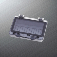 Waterproof Power Window Switch Cover Plastic Transparents Window Of Electric Meter Box