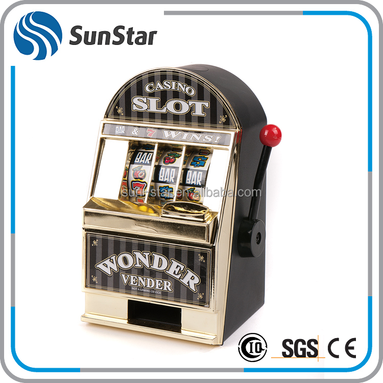 NBSS fully stocked piggy bank coin machines casino