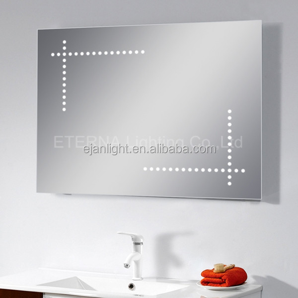 IP44 Waterproof Bathroom Mirror Attached Light With Heated Pad