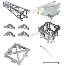 Aluminum lighting box truss lift tower with motor