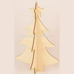 2018 new hot sales china handmade big ornament crafts cheap wholesale gift wooden pine tree christmas