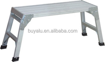 Aluminum Ladder with platform
