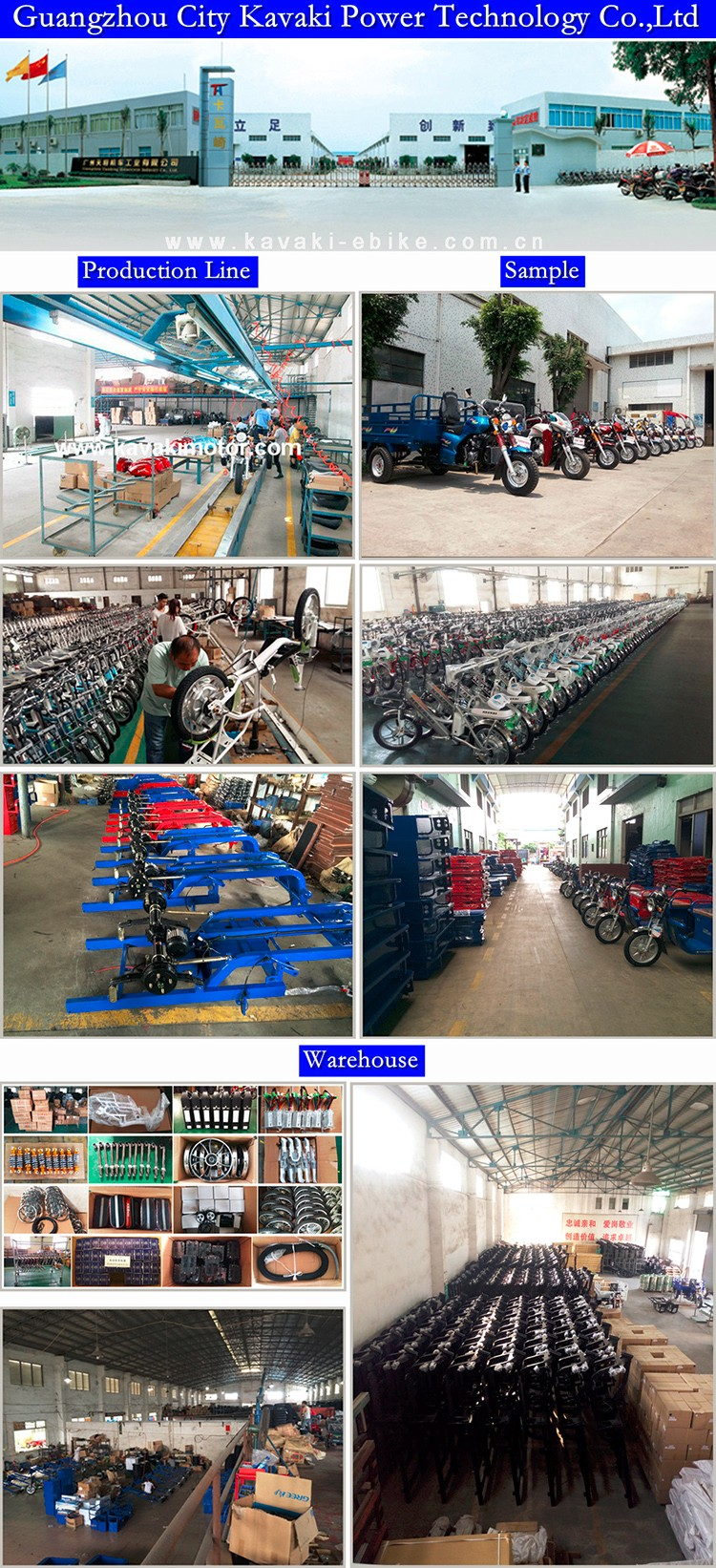 Auto Farmer Use Three Wheeler Motorcycle Tricycle Cargo Rickshaw Reverse with Pedal Cheap Price