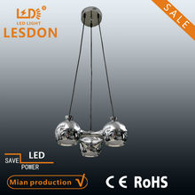 ball shape led chandelier