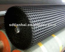 CE/ISO Warp Knitting Polyester Geogrid