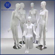 Strict quality control perfect female standing fiberglass mannequin dummy