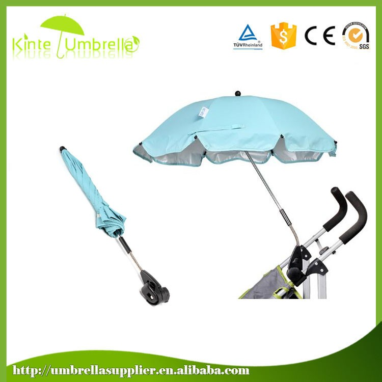 Customized top sell stroller clip on umbrella factory in china