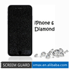 Cell phone covers and accessories fashion diamond screen protector for apple iphone 6 case
