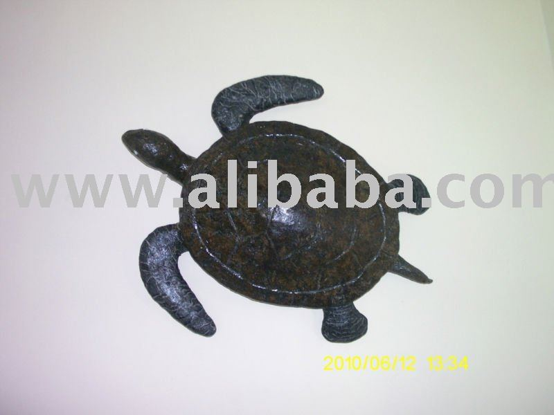 TURTLE STATUE LEATHER