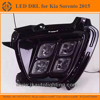 New Arrival 4-Eye LED DRL Fog Lights for Kia Sorento High Quality LED Daytime Running Light for Kia Sorento 2015