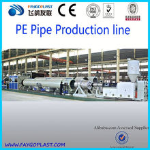 pe water supply pipe machine|pe pipe making machine|plastic pipe production line