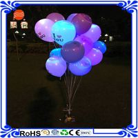 2016 hot sale recording party balloon with 4 wheels flying 3 hours