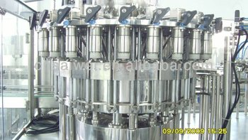 Bottled juice filling plant