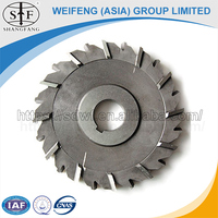 Trade Assurance HSS Face and Side Milling Cutter with Straight Teeth