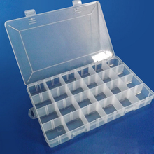 Wholesale Adjustable Compartments Seal Gasket Clear Plastic Waterproof Fishing Tackle Box