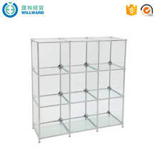 2017 modern style glass vitrine display cabinet glass cabinets