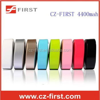 4400 mah candy colorful power bank 18650 battery china supplier