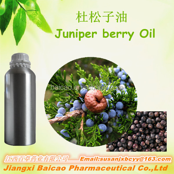 Natural Juniper Berry Oil In Bulk Quantity For Christmas Cosmetic